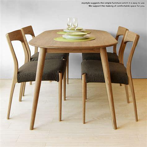 Japanese Dining Table Set Joystyle Interior Rakuten Global Market Width 150 Cm Oak Wood Oak Solid Wood Oak Form Of