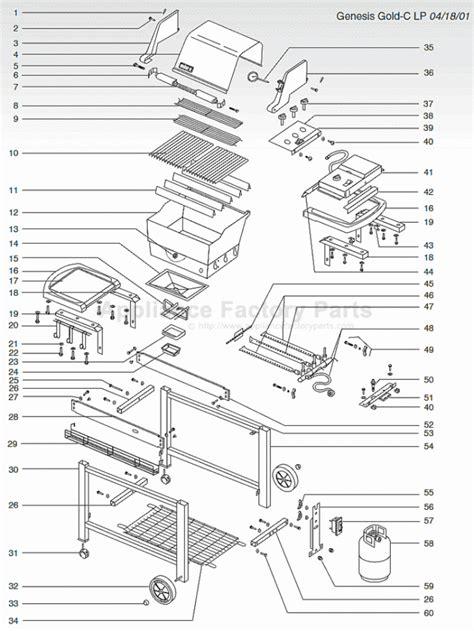 weber genesis parts diagram weber genesis parts diagram gas grill diagram portions