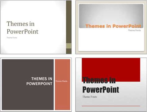 Theme Fonts In Powerpoint 2011 For Mac Powerpoint Tutorials Powerpoint 2010 Themes
