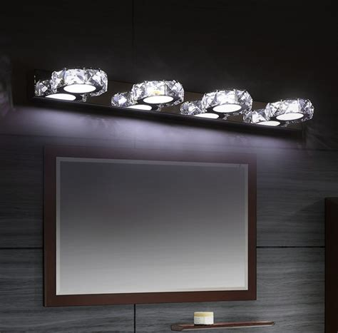 Modern Bathroom Mirrors With Led Lights Fashion Modern Bathroom Mirror っ Wall Wall Sconce
