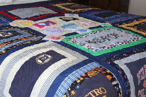 Fireman Quilt Pattern by Custom Quilts T Shirt Qiilts