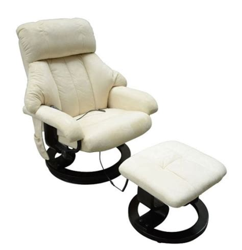 vibrating recliner massage chair office heated recliner vibrating massage chair w ottoman