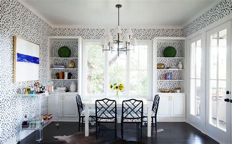 Orange Dining Room Chairs katie kime s colorful house in austin is everything home