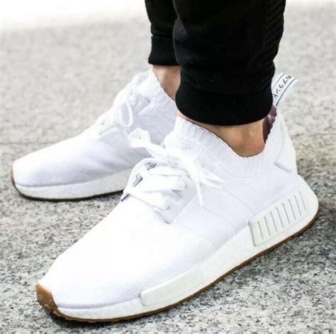 adidas nmd r1 primeknit white gum size 12 ds by1888 ebay