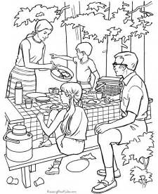 camping coloring images amp pictures becuo