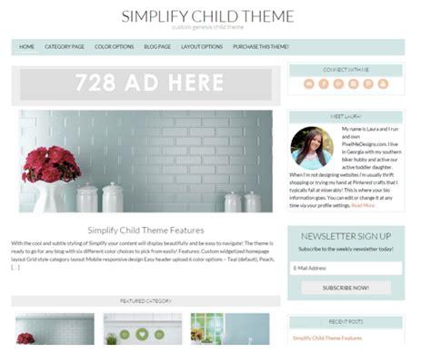 40 best genesis child themes for wordpress 2016 colorlib top 40 free premium feminine wordpress themes 2016