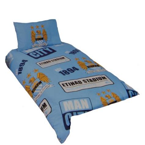 man city bedroom manchester city fc bedroom accessories official