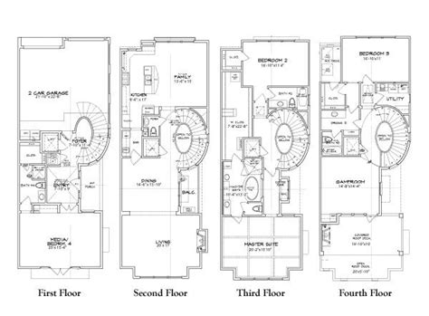 townhome floor plan designs luxury townhouse plans with luxury townhouse floor plans