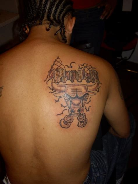 chicago bulls tattoos chicago bulls tattoos