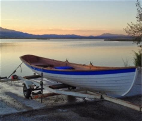 duck boat utah a duck trap wherry in utah rowboat build by emerimat