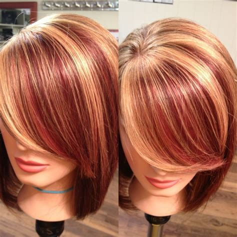trendy highlights 2015 17 latest hair color trends for 2015 strawberry blonde