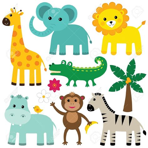 safari cartoon baby safari animals cartoon www pixshark com images
