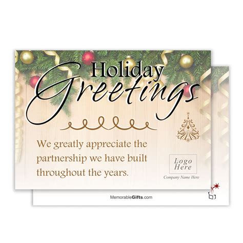 holiday  corporate holiday card