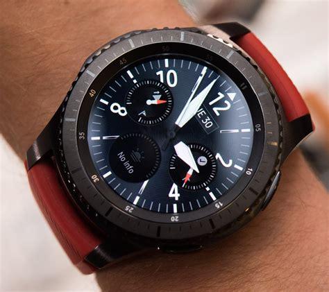 Samsung Frontier Smartwatch samsung gear s3 frontier classic smartwatch on