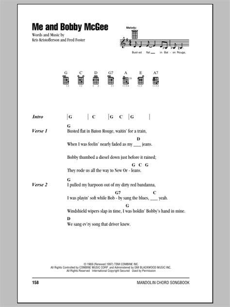 bobby mcgee  janis joplin mandolin chordslyrics guitar instructor