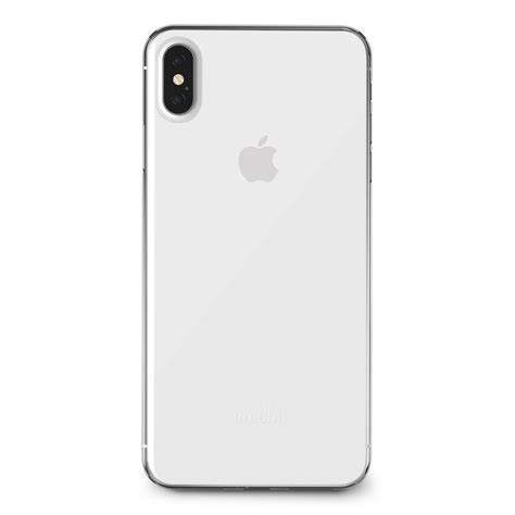 moshi superskin cover case iphone xs max crystal clear