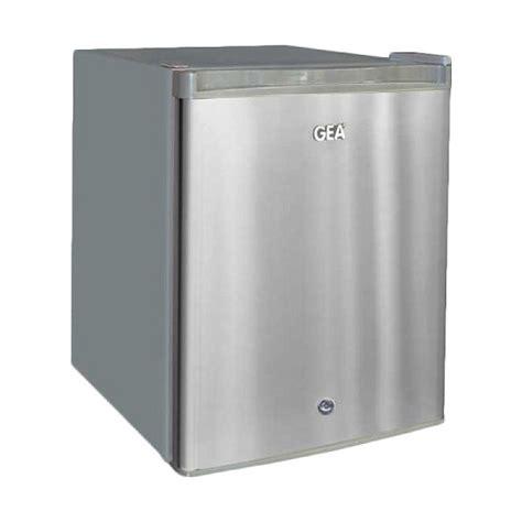 Lemari Es Minuman Ringan harga jual gea rs 06dr kulkas mini 1 pintu pendingin minuman buah buahan 46l sejuk elektronik
