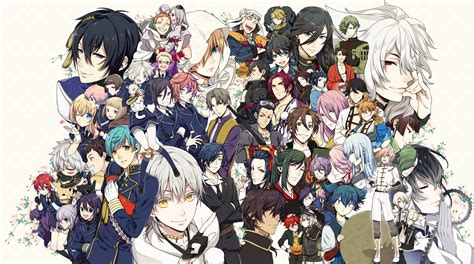 touken ranbu anime anime touken ranbu wallpapers desktop phone tablet