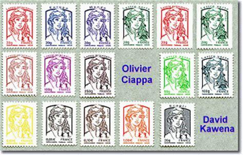 la nouvelle marianne des timbres une s 233 lection de 8 timbres de la mariane de ciappa et kawena pour l 180 233 e 2015