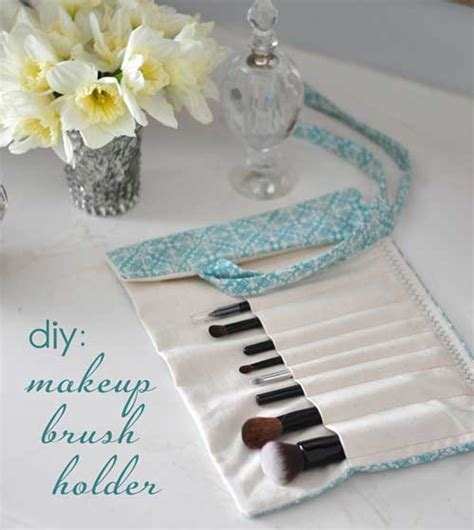 pattern for makeup brush holder makeup brush holder free sewing tutorial love to sew
