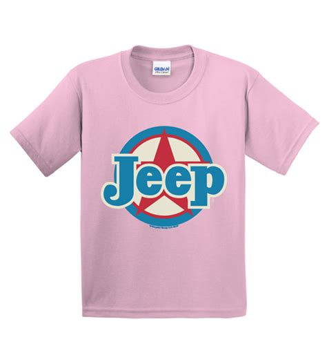 light pink jeep all things jeep light pink youth jeep sleeved
