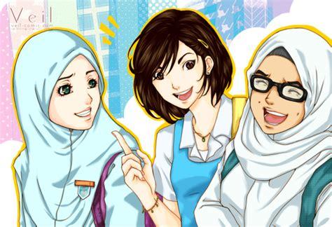Cerita Anime Hijab My Blog Kumpulan Anime Muslimah