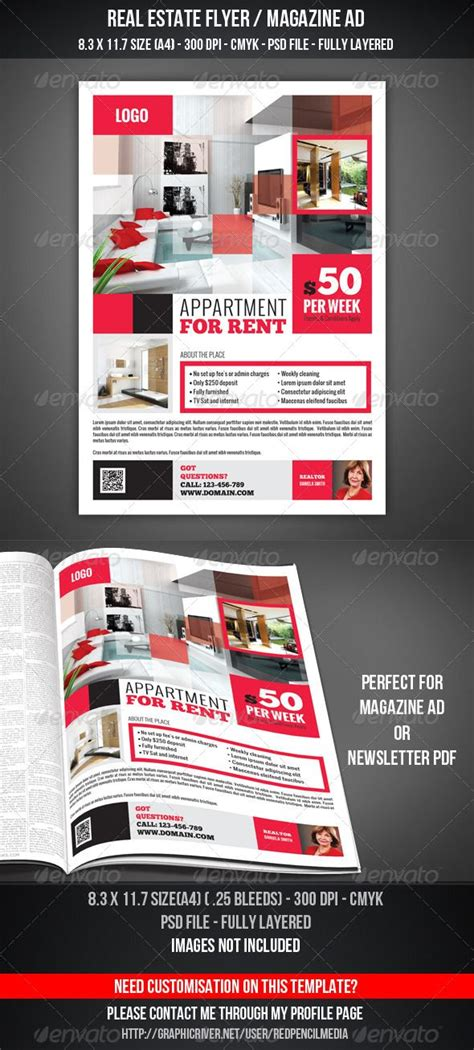 advertising magazine template 17 best images about real estate ref on