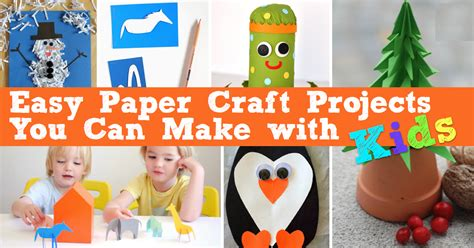 Crafts You Can Make With Paper - easy paper craft projects you can make with