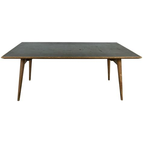 laminate dining room tables modernist french wood and laminate dining table for sale