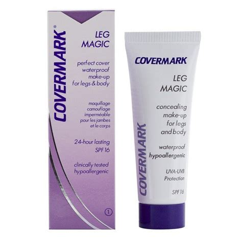 maquillaje para piernas covermark leg magic maquillajerossa