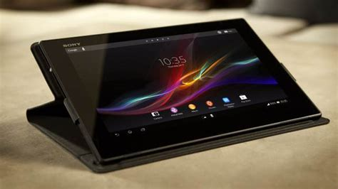 Tablet Sony Z4 Ultra sony xperia z4 tablet 10 inch snapdragon 810 processor and 4 gb of ram tech boom