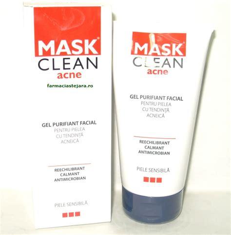 Masker Acnes mask clean acne gel purifiant