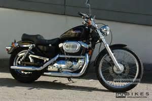 1997 harley davidson 1200 sportster custom black original