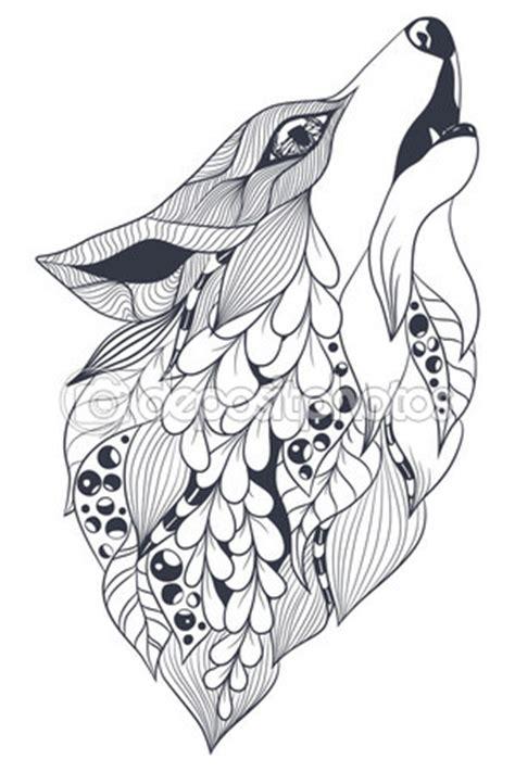 imagenes de zorros en blanco y negro esp 237 ritu del bosque del zorro vector de stock arte