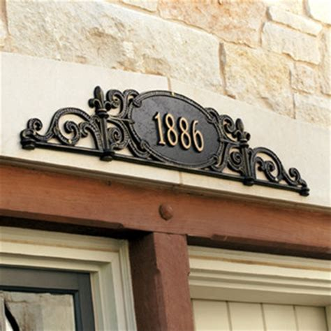 outdoor house numbers charleston outdoor signs traditional house numbers by ballard designs