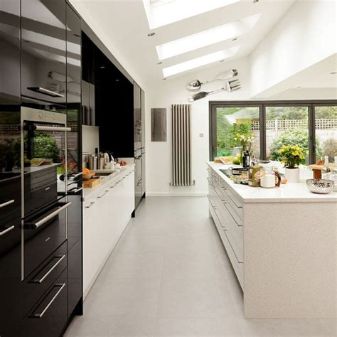 galley kitchen extension ideas interior design chatter colour inspiration
