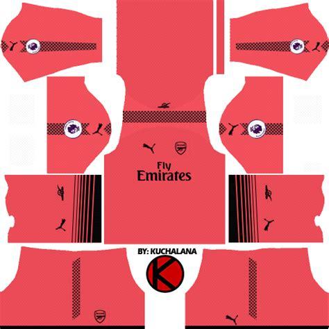 arsenal kit dream league arsenal kits 2017 18 dream league soccer kuchalana