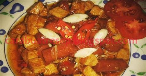 Seblak Basah Instan Caraoz Yang Bikin Jadi Baper cara membuat sosis tahu asam manis resep masakan indonesia