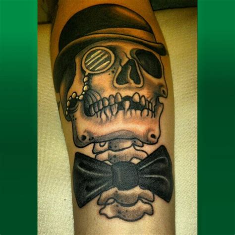 gentleman tattoo gentleman skull gentlemen tattoos