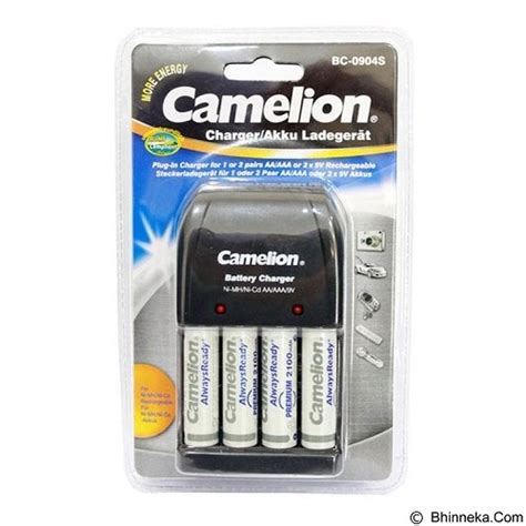 Charger Camelion Bc 0904s 4h21ardb 1 jual camelion charger with 4 2100mah battery bc 0904s murah bhinneka