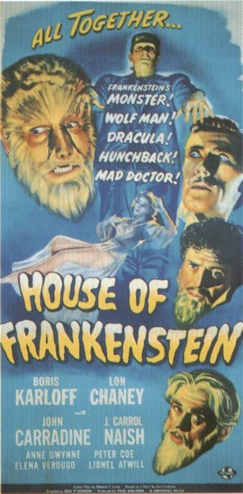 house of frankenstein fantasy films h