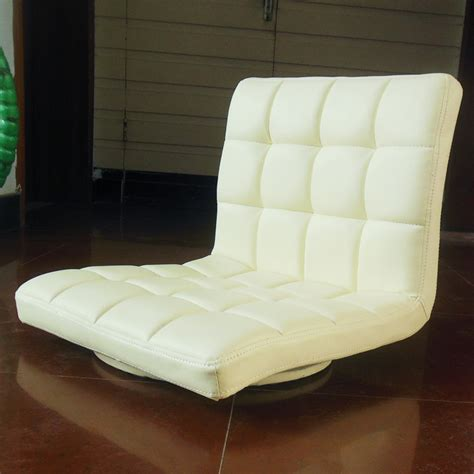 Leather Chair 360 Degree Swivel Living Room Furniture Japanese Style Living Room Furniture