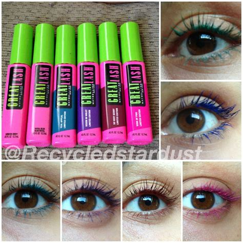 8 Great Mascaras For Thin Lashes by Maybelline Great Lash Limited Edition Colors Review