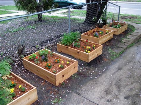 backyard planter designs simple and easy small diy wood planter box using cedar for