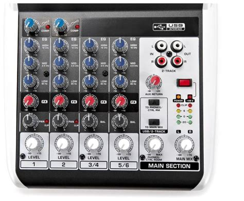 Behringer Mixer Xenyx Q802usb behringer xenyx q802usb mixer getinthemix
