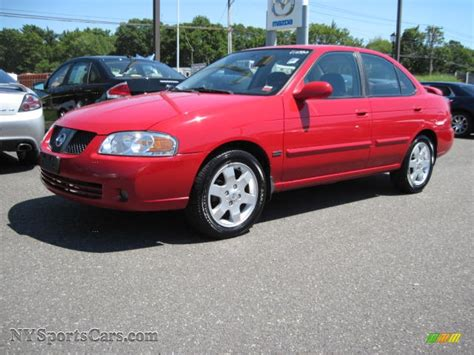 red nissan sentra 2006 nissan sentra 1 8 s special edition in code red