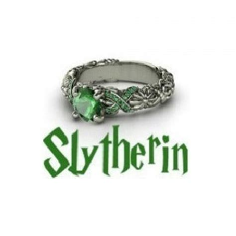 slytherin house slytherin harry potter house school ring slytherin gryffindor ravenclaw hufflepuff