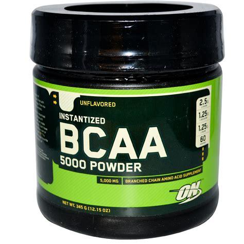 Suplemen On optimum nutrition bcaa 5000 powder instantized