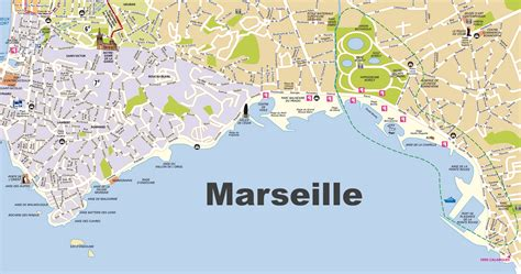 map of marseille marseille beaches map