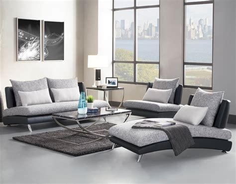 Homelegance Renton 3 Piece Upholstered Living Room Set In Grey Living Room Set